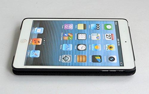 inShang iPad Hülle Schutzhülle für iPad mini 4, PU Leder mit Muster von Diamond, Ständer Etui Tasche Smart Case Cover für ipad mini4 mit Automatische Einschlaf/Aufwach + inShang Logo hochwertigen Stylus Eingabestift Stift - 5