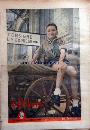 PELERIN (LE) [No 3844] du 15/07/1956 - sport cyclisme - bernard gauthier champion de france perseverance athletisme - la valse des records continue... en deux mots... ils font parler d'eux