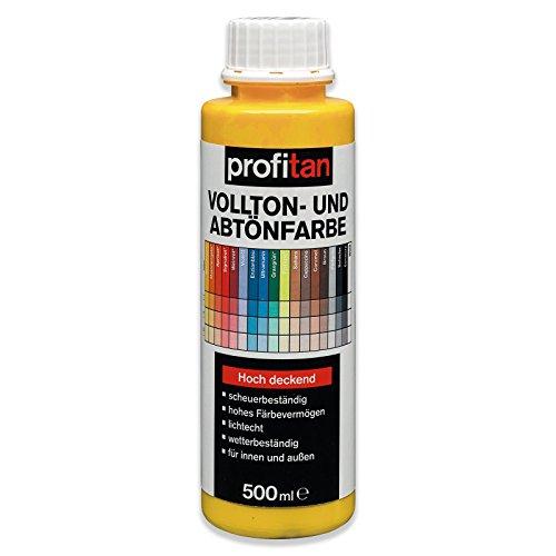 ROLLER profitan Vollton- und Abtönfarbe - Sonnengelb - 500 ml