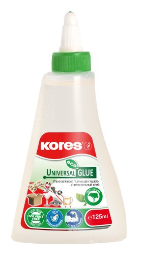 Kores Klebemittel Alleskleber Eco Universal Glue, extra stark, 125 ml, transparent