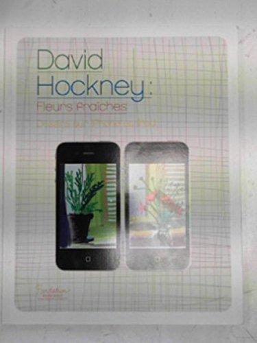 Fleurs fraiches. David Hockney