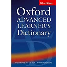 Hornby, A: OXFORD ADVD LEARNERS DICT O-7E