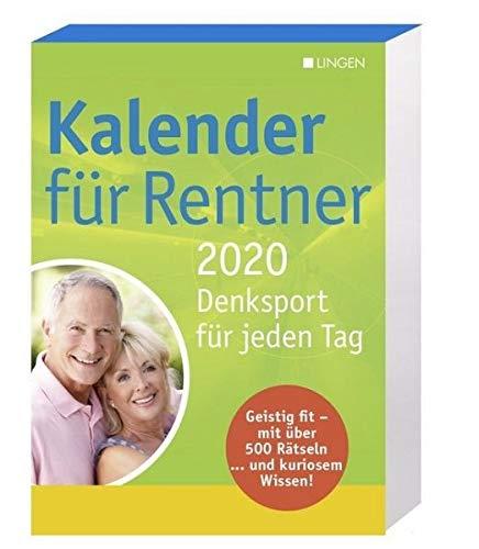 Kalender für Rentner 2020 - Abreißkalender: Denksport für jeden Tag