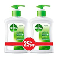 Dettol Original Anti-Bacterial Liquid Hand Wash 200ml Twin Pack At 25% Off