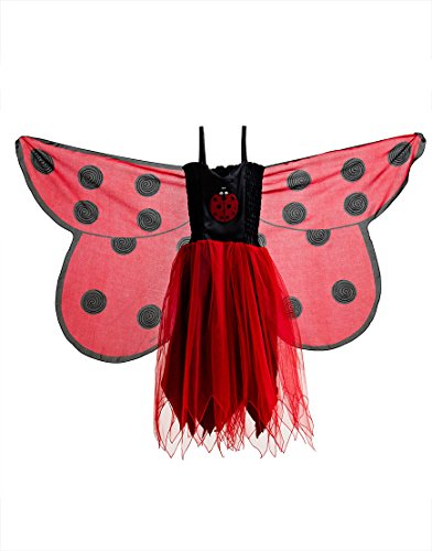 66 Dress, Fly-Away-Kleidchen, Ladybird, Marienkäfer Coccinellidae, M 6-7 YRS ()