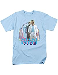 Miami Vice Crimen Detective Drama Serie de televisión NBC Miami Heat Adulto Camiseta tee