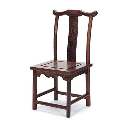 JHDY Stuhl Chinese Retro Stuhl aus Massivem Holz Kinderstuhl Schuhbank Unterer Hocker Kleiner...