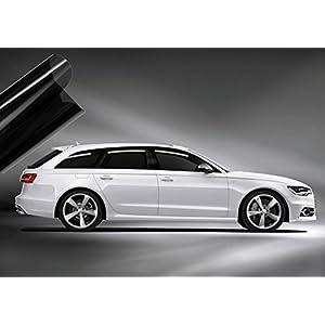 Solar Screen Passgenaue Scheibenfolie Tönungsfolie Audi A3 8V 3-Türer ab Bj. 2012 Set in Black 75