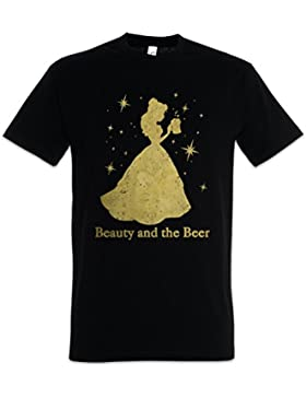 Urban Backwoods Beauty and The Beer T-Shirt – Tamaños S – 5XL
