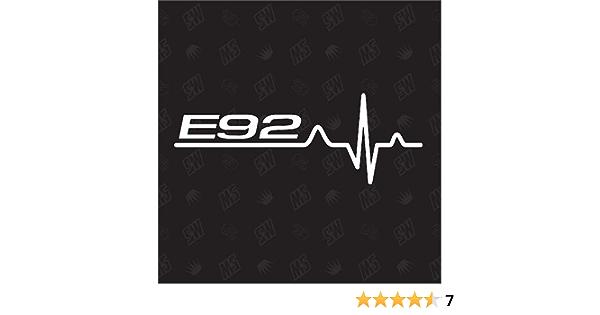 Speedwerk Motorwear E92 Herzschlag Sticker Für Bmw Tuning Fan Aufkleber Auto