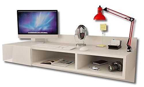 -Moderno escritorio montado a la pared