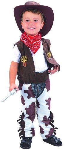 Generique Schickes Cowboy-Kostüm für Jungen 98/104 (3-4 Jahre)