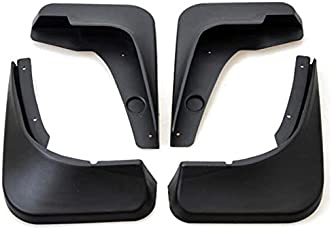 Auto Spare World Car Mud Flaps for Renault Lodgy 2015-2018 (Set of 4 Pcs.)