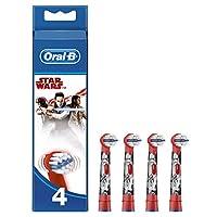 Oral-B Cabezales de Recambio para Cepillo de Dientes Eléctrico de Star Wars  x4 8e5424ba7a88