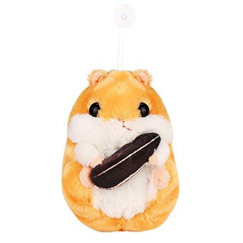 Coupon Matrix - SALE! Kawaii Jumbo Hamster Soft Plush Doll, GreatestPAK Gilrs Adorable Plush Stuffed Animal Soft CM© toy Cute Dolls Gift For Boys Adults Home Decoration (Brown)