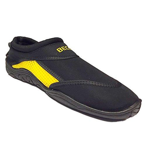 Beco Surf und Badeschuhe Schuhe gelb/Schwarz 38