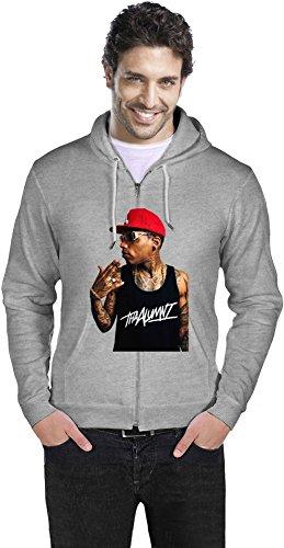 Kid Ink Rapper Rockstar Mens Zipper Hoodie XX-Large 69b98499b7
