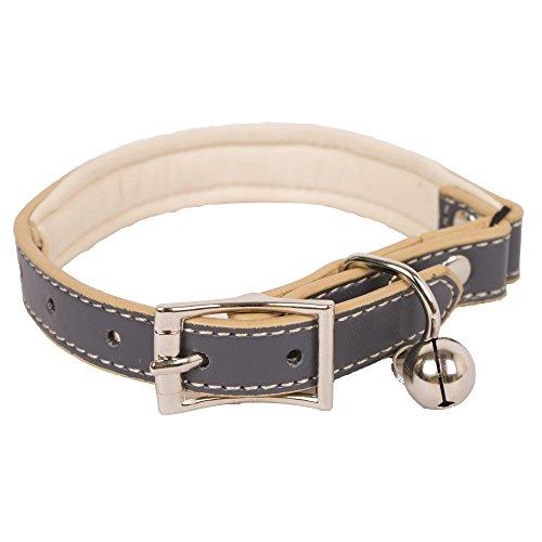 Banbury & Co Luxury Katzen Halsband (Einheitsgröße) (Grau)