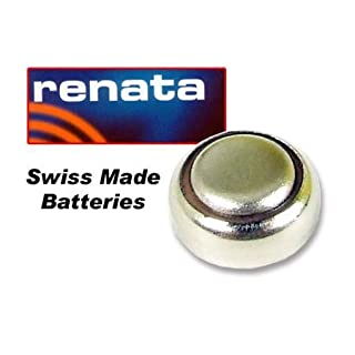 Mirar Oxide Watch batteries Piles 10 Renata Silver With 1.55 Voltage Units & 392 (SR41W)