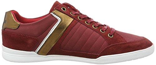 Le Coq Sportif Alsace Low, Baskets Basses Homme Rouge (Pompeian Red)