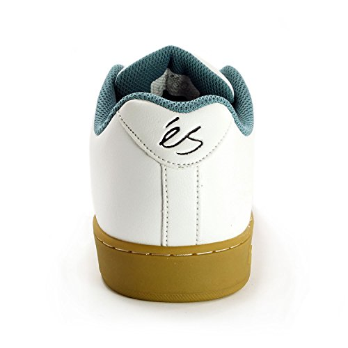 Es Accel Slim brown/gum Shoes White Gum
