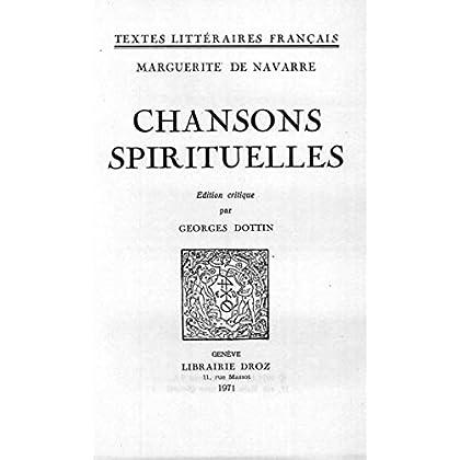 Chansons spirituelles (TEXTES LITTERAI)