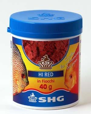 SHG Futter für Fische Wasser Marina und Dolce Aquarien 40g in Schleifen Hi Red