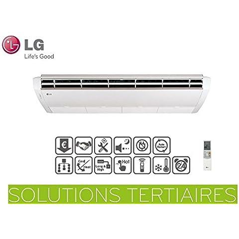 Insieme LG mono-split Console convertibile e plafoniera uv42.NL2–uu42W.u32