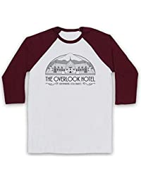 cad28852688f Inspired Apparel Inspire par Shining The Overlook Hotel Officieux 3 4  Manches Retro T-