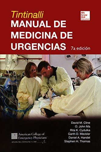 TINTINALLI MANUAL DE MEDICINA DE URGENCIAS por David Cline