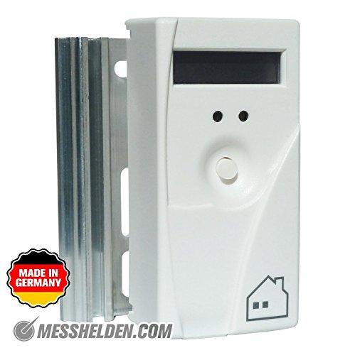 Elektronischer Heizkostenverteiler, Funk - NEU - inkl. Montageplatte und Plombe von MESSHELDEN.com Test