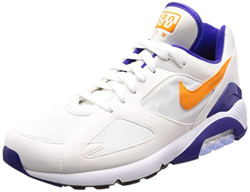 Nike Herren Air Max 180 Gymnastikschuhe, Elfenbein (White B R It E Ceramic Dark Concorde 101), 44 EU