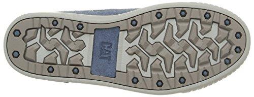Caterpillar Recurrent, Cheville Chaussures Lacées Homme Bleu (Blue Mirage)