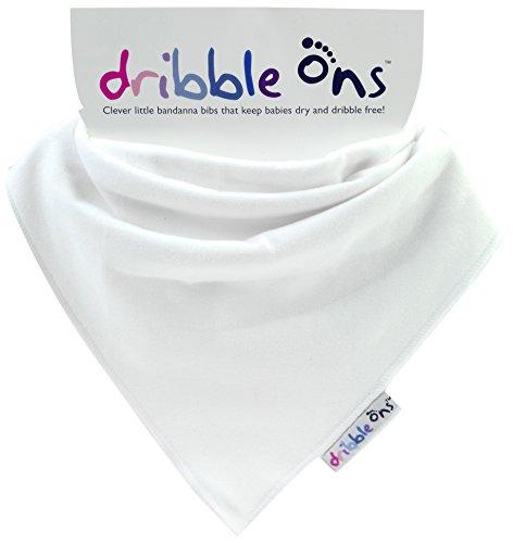 Sock Ons 140522 - Bandana Lätzchen weiß
