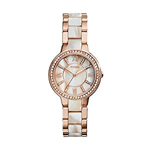 Fossil Women's Virginia Stainless Steel Watch