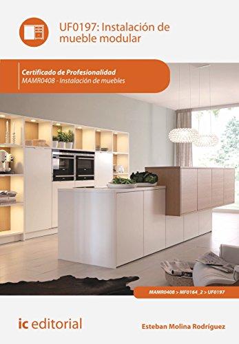 Instalación de mueble modular. MAMR0408 por Esteban Molina Rodríguez