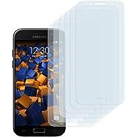 6 x mumbi Schutzfolie für Samsung Galaxy A5 (2017) Folie Displayschutzfolie (bewusst kleiner als das Display, da dieses gewölbt ist)