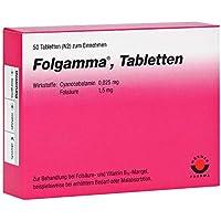 FOLGAMMA Tabletten 50 St Tabletten preisvergleich bei billige-tabletten.eu