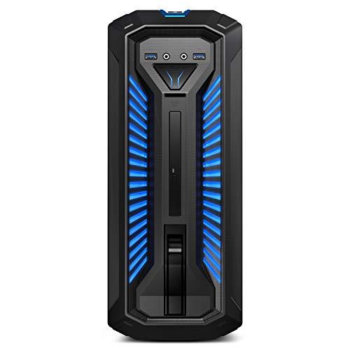 Preisvergleich Produktbild MEDION ERAZER X67053 Gaming Desktop PC (Intel Core i5-8400,  1TB HDD,  256GB PCIe SSD,  16GB DDR4 RAM,  NVIDIA GeForce GTX 1060 3GB GDDR5,  Hot-Swap,  Win 10 Home)