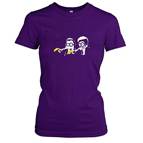 Texlab - Banana Pulp - Damen T-Shirt, Größe XL, Violett