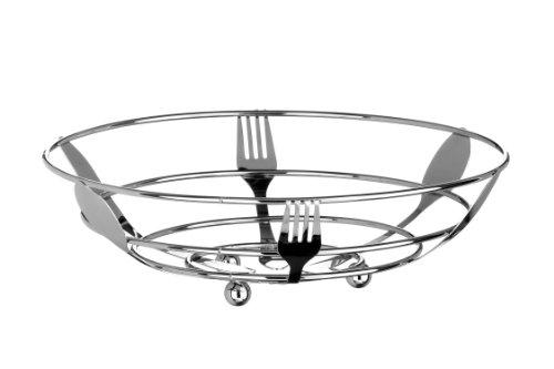 Premier Housewares - Frutero (9 x 28 x 28 cm), diseño de cubiertos