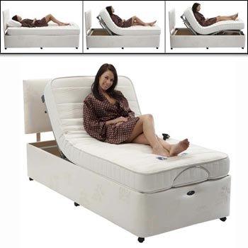 Restwell Richmond verstellbares Bett Set ohne Kopfteil