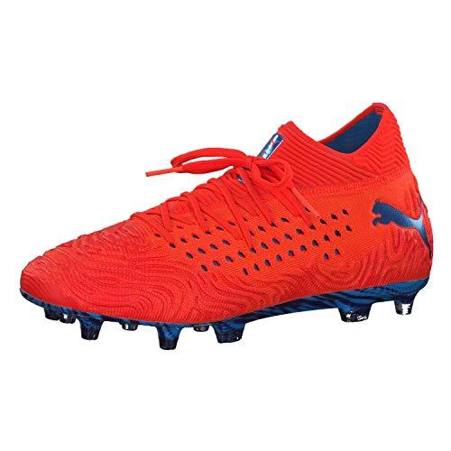 adcbbc9b41 Puma Future 19.1 Netfit FG/AG, Zapatillas de Fútbol para Hombre, Rojo (