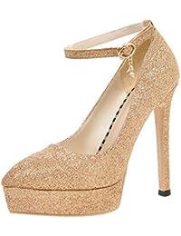 new product 9fac7 d1ac1 Amazon.it: scarpe decolte - Oro: Scarpe e borse