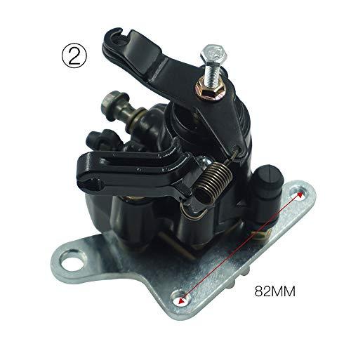 MADONG Bremssattelauflagen für Hinterräder für Yamaha ATV Warrior Banshee Blaster Raptor 200 250 350 660 1987-2006 (Farbe : Model B) -