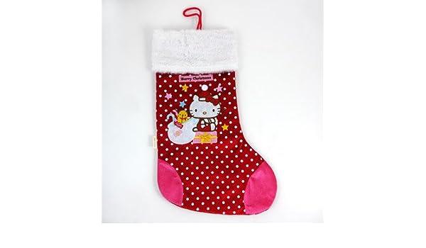 Hello kitty christmas stocking amazon toys games