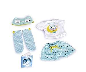 Nancy- Dulce sueños, Set de ropita de pijama, para niños y niñas a partir de 3 años, (Famosa 700015718)