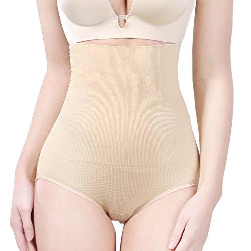 8271a874dc SunnySmile High Waist Shapewear-Comfortable Butt Lifter Waist Slimmer Tummy  Control Panties-Best 3