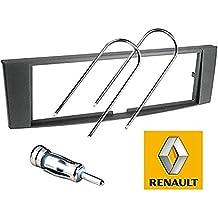 Kit de Montaje Marco para Radio Adaptador autorradio 1 DIN Renault Laguna