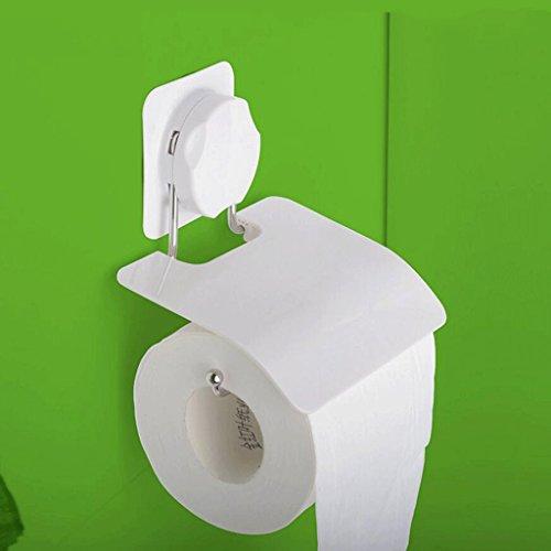 WC-Toilette Papier-Box Toilettenpapier Handtuch-Box Creative Sucker Papier Handtuch Rack Badezimmer Wasserdichte Toilette Papier-Box GAILILI Tissue-Box